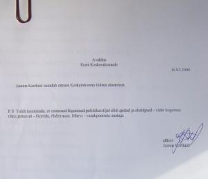 Jaanus Karilaid taandab ennast Keskerakonna liikme staatusest